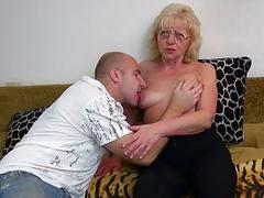 HOT Young guy fucking established with strapon