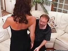 Compact Tit Slut Wife Trained to Swallow Jizz