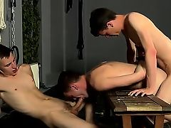 Naked gentlemen Captive Fuck Slave Gets Used