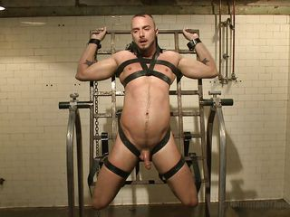 gay bottom has to sit on a sybian