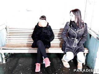 paradise films busty hot female-on-female babes