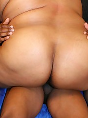A Black BBW Gets Drilled Hard