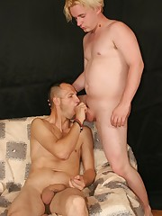 A tall dark and handsome stud gets fucked by his boyfriend
