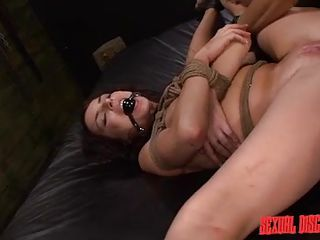dark hair milf gets face hole fucked and banged