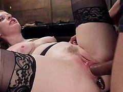 Bondage Slave Gets Every Hole Crammed