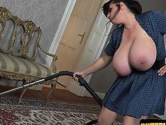 Hot secretary bondage gangbang
