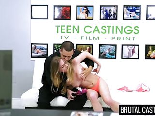 lusty teen gets awfully mouth fucked