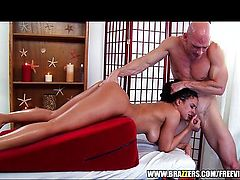 Luna Star massaged and fucked