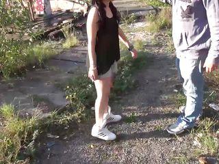 german teenies in an abandoned factory
