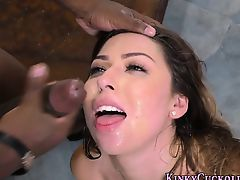 Cuckolders face spunked