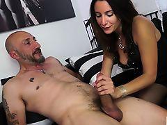 CASTING ALLA ITALIANA - Italian Debby Love's anal audition