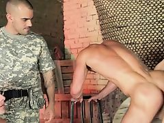 Naked inmates are moody for mean anal job in group scenes