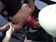 These German bitches love a good gangbang to get their day started