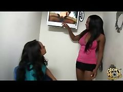 Ebony Chicks Love Gloryholes!