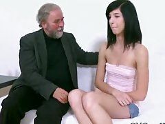 Alisa is having sex with her boyfriend and his father