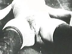 Vintage hard penis percussion
