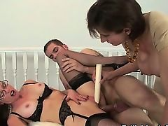 Milf Lady Sonia ding-dong two men plus one female