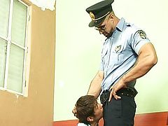 Dominant Jail Warden